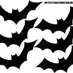 Cow Print Stencil Inspiring Free Printable Bat Templates Stencils and Library Template Hat