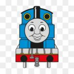 Cranky Thomas Train Awesome Free Engine Vector Png