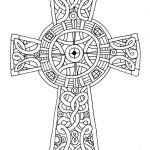 Cross Adult Coloring Pages Amazing Celtic Cross Coloring Page Coloring Home
