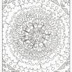 Cross Adult Coloring Pages Awesome Free Mandala Cross Stitch Patterns