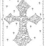 Cross Adult Coloring Pages Elegant Cross Coloring Pages Adult Coloring Panda Crafts