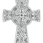 Cross Adult Coloring Pages Inspiration Cross Coloring Sheet Coloring Pages Color Resurrection Religious