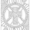 Cross Coloring Pages for Adults Pretty Coloring Page Cross Church Stuff