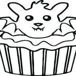 Cupcake Coloring Books Best Of Cupcake Sleeve Template
