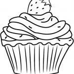 Cupcake Coloring Books Fresh Cute Cupcake Coloring Pages Luxury Birthday Presents Coloring Pages
