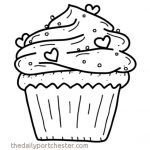 Cupcake Coloring Books Inspirational 16 Elegant Cupcake Coloring Pages