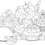 Cupcake Coloring Books Inspirational Coloring Activities for Kids Inspirational Food Coloring Pages