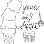 Cupcake Coloring Books Inspirational Sweets Coloring Pages