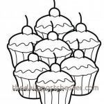 Cupcake Coloring Books Unique 16 Elegant Cupcake Coloring Pages