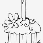 Cupcake Coloring Books Unique Birthday Cake Coloring Page Lovely Cupcake Coloring Pages Best Easy