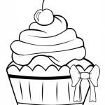 Cupcake Coloring Books Unique Cake and Cupcake Coloring Pages Beautiful Coloring Page 4 Unicorn