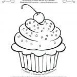 Cupcake Coloring Books Unique Cupcake Flag Template – Stumber