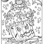 Cupcake Coloring Books Unique Halloween Cupcakes Part 2 Printables Adult Coloring Fun for