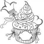Cupcake Coloring Books Unique Pin Af Pamela Mchatten On Birthday