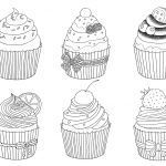 Cupcake Coloring Books Unique Pin by Sue Ann On Adult Coloring Books
