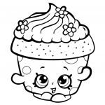 Cupcake Queen the Shopkin Amazing Category Coloring Kids 36