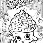 Cupcake Queen the Shopkin Best Category Coloring Kids 36
