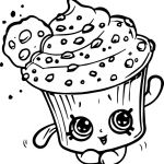 Cupcake Queen the Shopkin Inspirational Shopkins Coloring Pages Cupcake