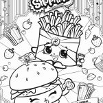 Cupcake Queen the Shopkin Inspired Shopkins Free Coloring Pages