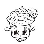 Cupcake Queen the Shopkin Marvelous Category Coloring Kids 36