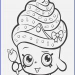 Cupcake Queen the Shopkin Marvelous Coloring Pages Cupcakes