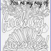 Cuss Word Coloring Pages Creative New Curse Word Coloring Page 2019