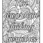 Cuss Words Coloring Pages Amazing 453 Best Vulgar Coloring Pages Images In 2017