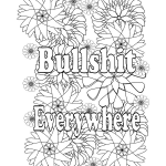 Cuss Words Coloring Pages Beautiful Amazon I Love to F Cking Color and Relax with My Swear Word
