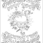 Cuss Words Coloring Pages Best 48 Swear Word Coloring Pages Printable Free — String town Blog