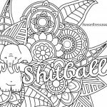 Cuss Words Coloring Pages Inspired Coloring Page Outstanding Word Coloring Book