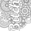 Cuss Words Coloring Pages Marvelous Mandala Adult Coloring Page Swear 14 Free Printable Coloring