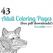 Cute Adult Coloring Books Pretty 43 Printable Adult Coloring Pages Pdf Downloads