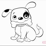 Cute Animal Coloring Pages Printable Pretty Coloring Book Cute Puppy Coloringges Free Luxury Printable Od Dog