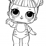 Cute Cat Coloring Pages Beautiful Lol Doll Coloring Pages Coloring