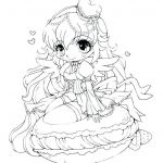 Cute Cat Coloring Pages Best Girl Leprechaun Coloring Pages New Anime Cat Girl Coloring Pages