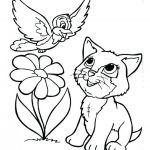 Cute Cat Coloring Pages Best Kitten Coloring Pages