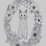 Cute Cat Coloring Pages Creative Cat Coloring Pages