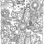 Cute Cat Coloring Pages Inspired Awesome Cats and Dogs Coloring Sheets – Howtobeaweso