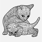 Cute Cat Coloring Pages Inspiring Fresh Cute Puppy and Kitten Coloring Pages – Nicho