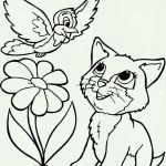 Cute Cat Coloring Pages Marvelous Coloring Book World Cat and Dog Coloring Sheet Book World Husky