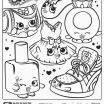 Cute Coloring Pages to Print Creative Fresh Cute Shopkin Coloring Pages Nocn