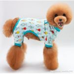 Cute Dog Pictures to Print Marvelous 2019 Pet Dog Summer Wear Pajamas Cute Four Foots Pets Clothes Puppy