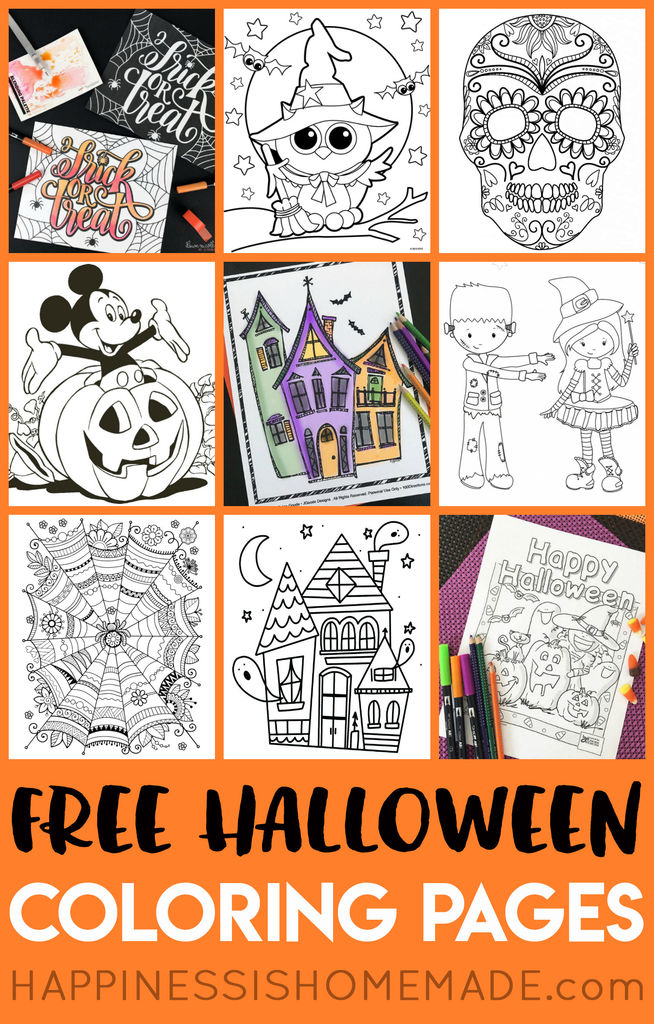 Cute Halloween Coloring Pages for Kids Brilliant Coloring Page 31 Awesome Printable Halloween Coloring Pages