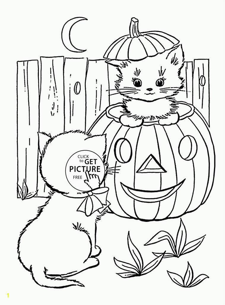 Cute Halloween Coloring Pages for Kids Creative Coloring Books Free Halloweeng Pages for Kids Adults Printable and