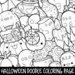 Cute Halloween Coloring Pages for Kids Wonderful Halloween Coloring