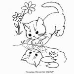Cute Puppy Pictures to Print Unique New Puppy and Kitten Coloring Sheets – Exad