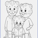 Daniel Tiger Chrissie Excellent Daniel Tiger Family Coloring Page