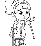 Daniel Tiger Chrissie Inspirational Daniel Tiger Family Coloring Page