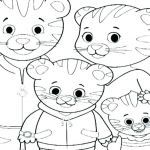 Daniel Tiger Coloring Book Best Daniel Boone Coloring Page Tiger Pages to Print Bible – Ilovezub