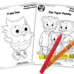 Daniel Tiger Coloring Book Marvelous Daniel Tiger S Neighborhood Live Go Valley Kids northeast Wi